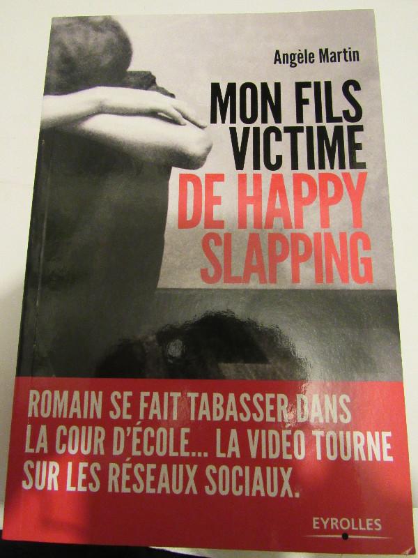 Mon fils victime de happy slapping, violence école, victimisation collège, livre sensibilisation