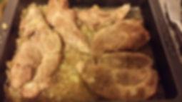 Rôti de porc miel et moutarde