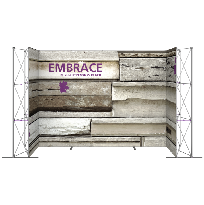 EMBRACE 14FT U-Embrace 14ft U Shape PUSH-FIT TENSION FABRIC DISPLAY 9