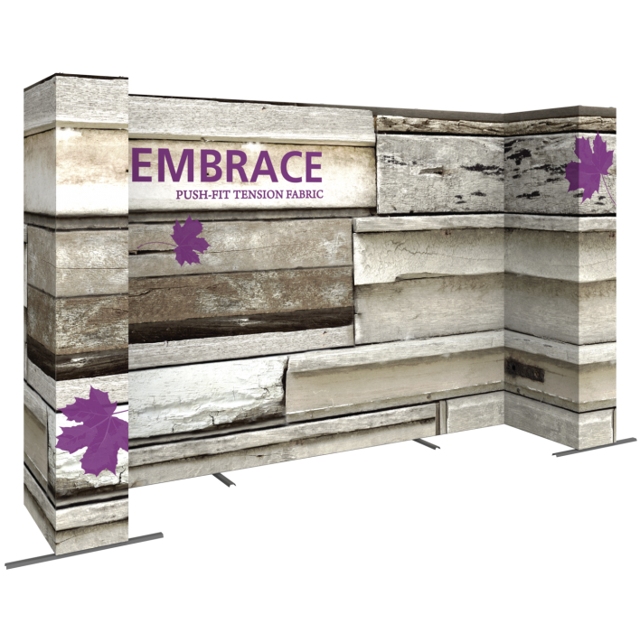 EMBRACE 14FT U-Embrace 14ft U Shape PUSH-FIT TENSION FABRIC DISPLAY