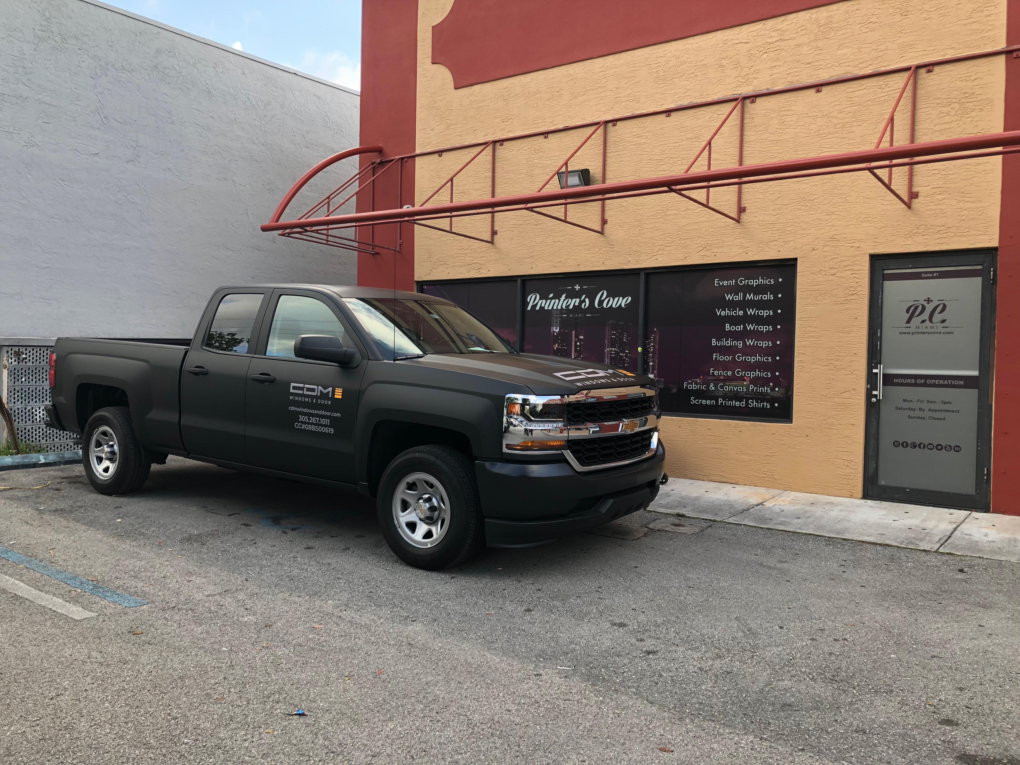 2016-Chevrolet-Silverado-Matte-Black-Wra