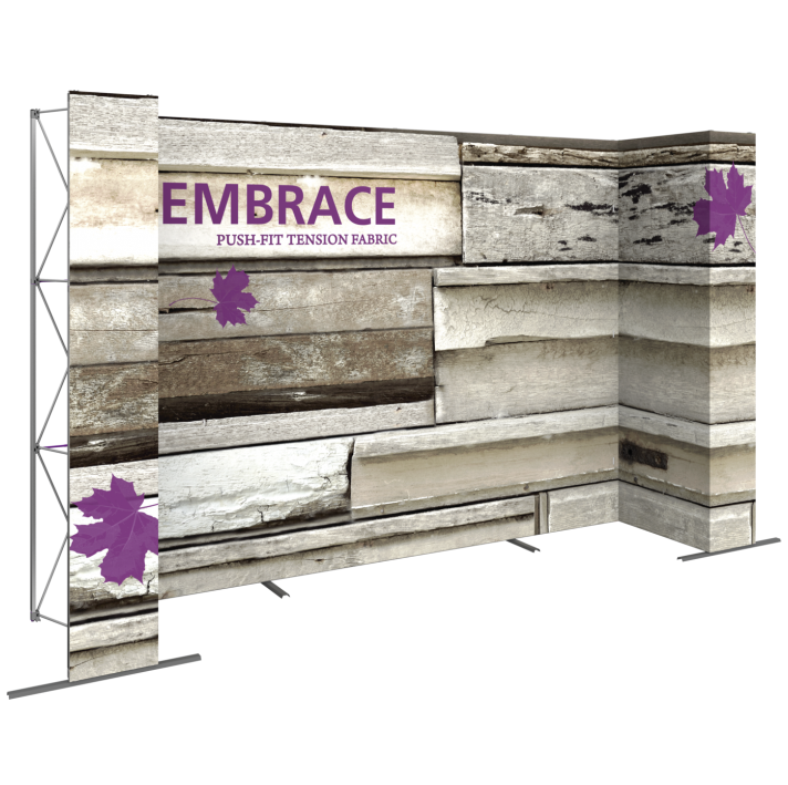 EMBRACE 14FT U-Embrace 14ft U Shape PUSH-FIT TENSION FABRIC DISPLAY 5