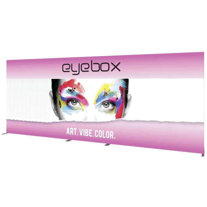 8x20 Illuminated fabric backdrop display stand 3