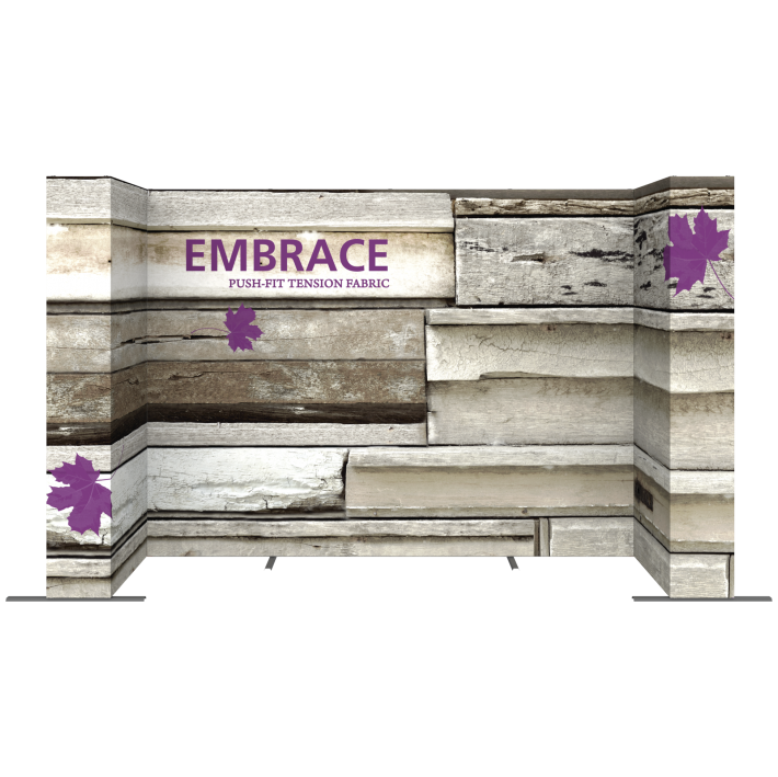 EMBRACE 14FT U-Embrace 14ft U Shape PUSH-FIT TENSION FABRIC DISPLAY 2