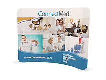 10' Wide Curved - Convention and Trade Show Display