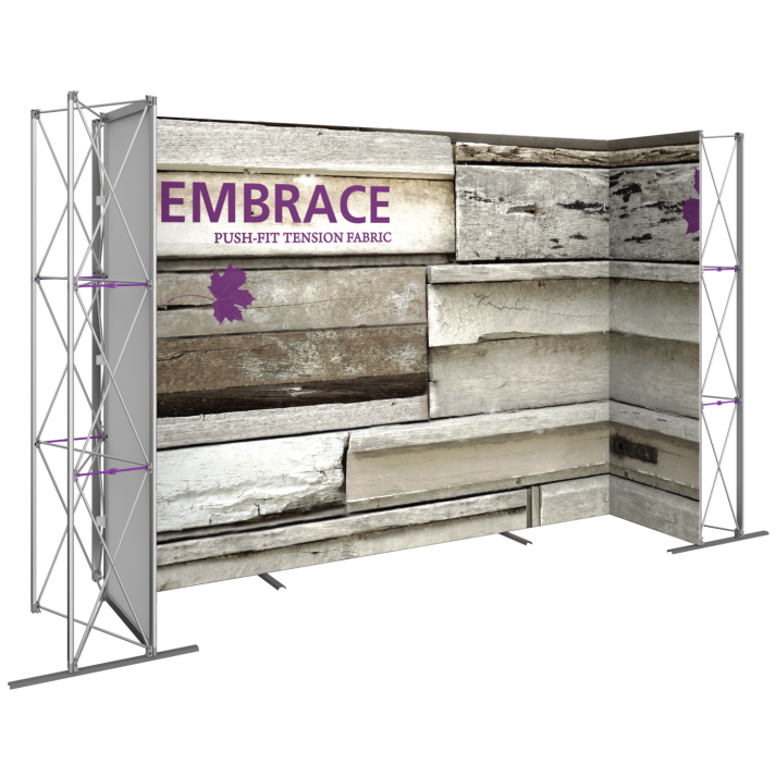 EMBRACE 14FT U-Embrace 14ft U Shape PUSH-FIT TENSION FABRIC DISPLAY 8