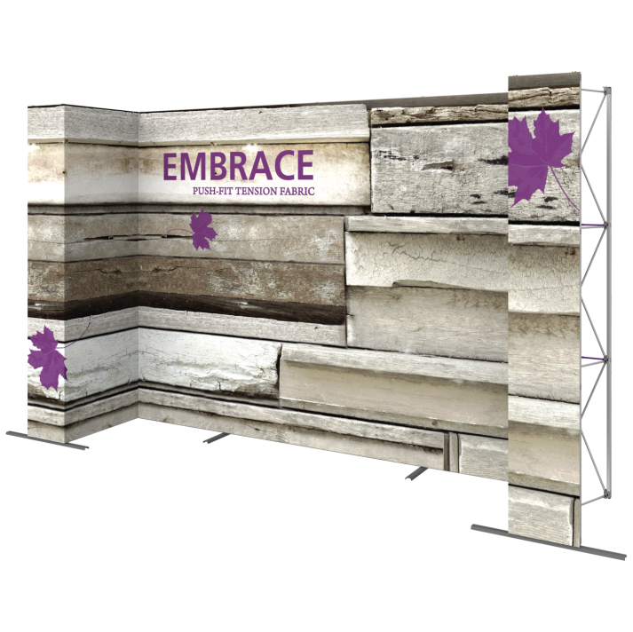 EMBRACE 14FT U-Embrace 14ft U Shape PUSH-FIT TENSION FABRIC DISPLAY 6