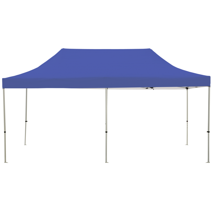 Cove 20' Custom Printed POPUP TENT blue