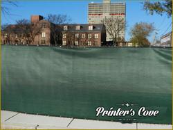 Green-mesh-fence-screen