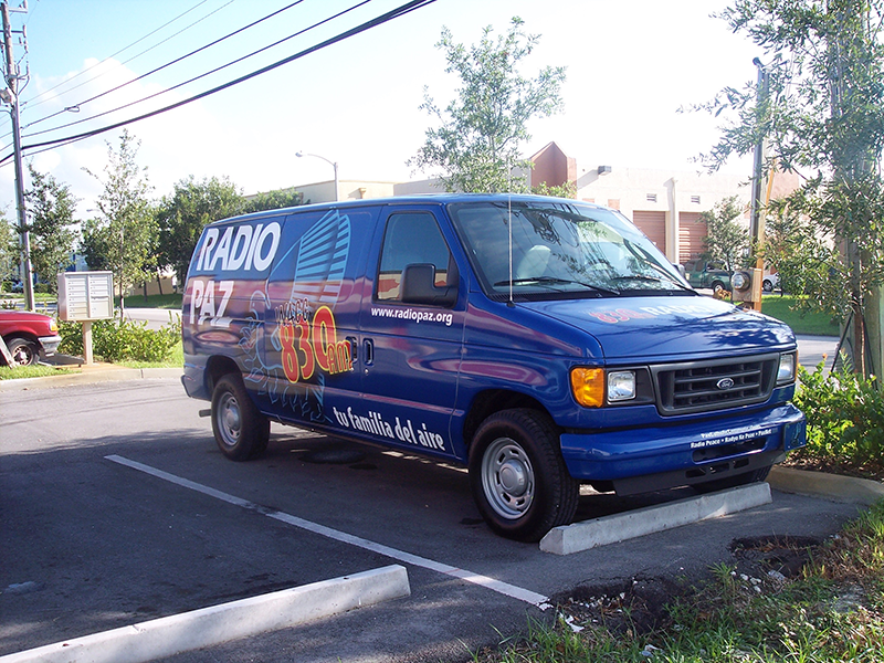 Ford Van Wrap 4