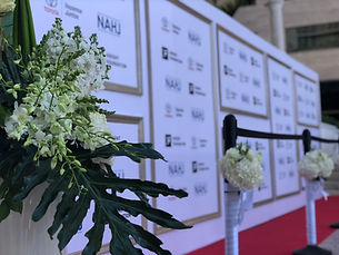 Event Displays and Backdrops