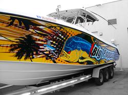 Boat Wraps (Marine Wraps)