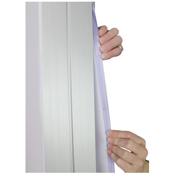 8x20 Illuminated fabric backdrop display stand 8