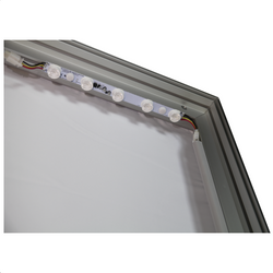 8x10 Illuminated fabric backdrop display stand 6