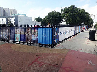 Fence Banners and Fence Wraps in Miami.j