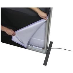 8x10 Illuminated fabric backdrop display stand 5