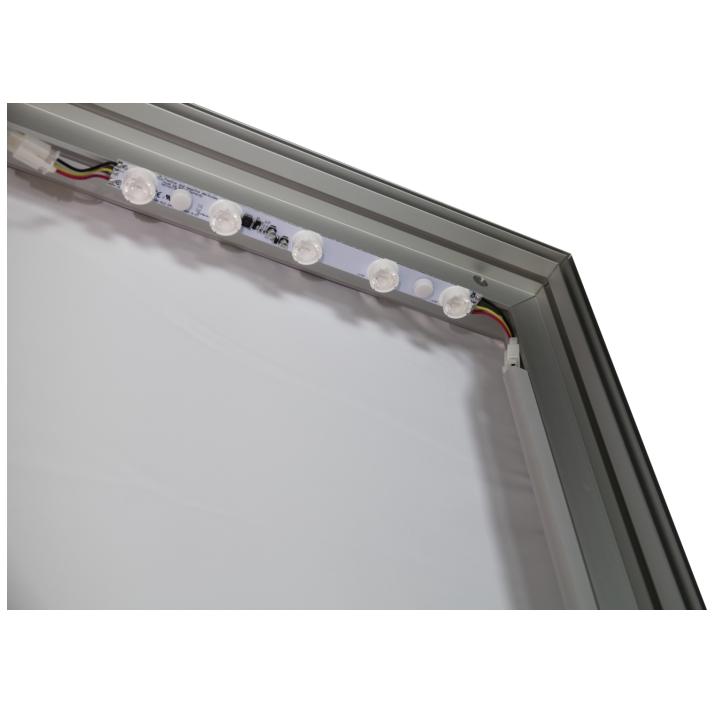 8x20 Illuminated fabric backdrop display stand 6