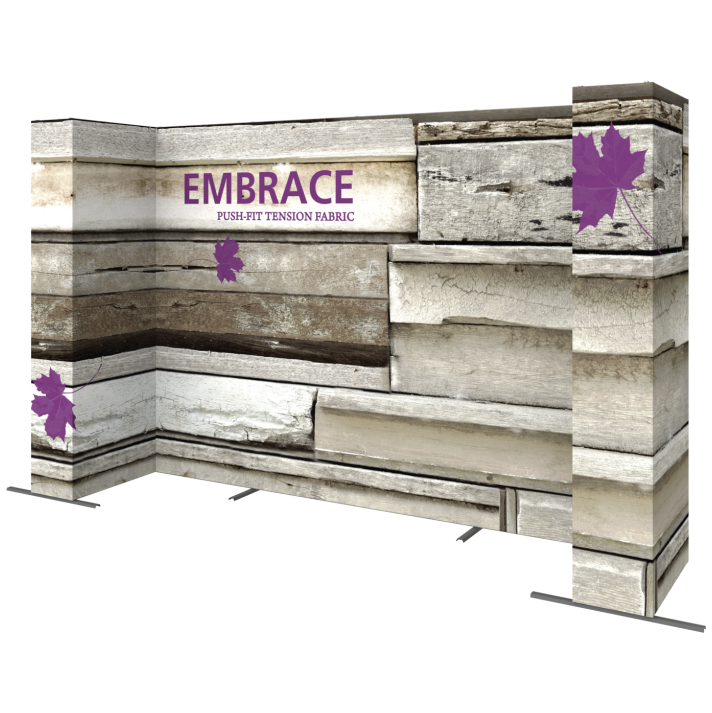 EMBRACE 14FT U-Embrace 14ft U Shape PUSH-FIT TENSION FABRIC DISPLAY 3