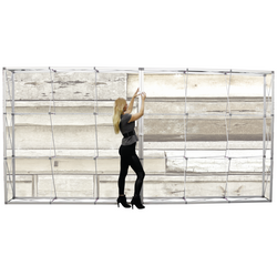 20 foot fabric tension wall with hardware6