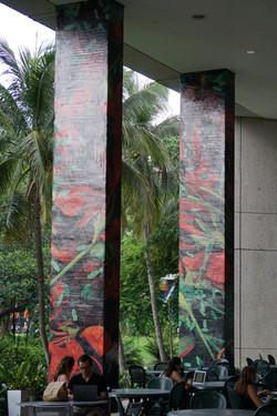 Printing Column Graphics for Art Basel