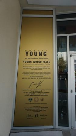 Robert Young Miami Art Basel Exhibit