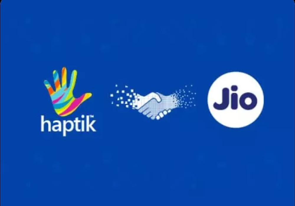 Haptic and jio