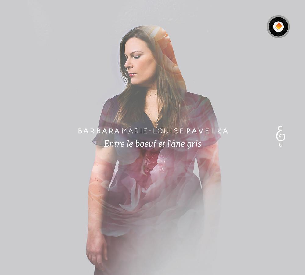 """""""Entre le Boeuf et l'Âne Gris"""" - CD - Barbara Marie-Louise Pavelka - Cover"""