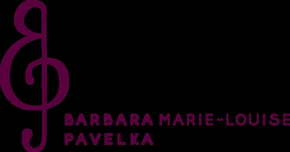 Logo - Barbara Marie-Louise Pavelka - A Lyrical Singers Life