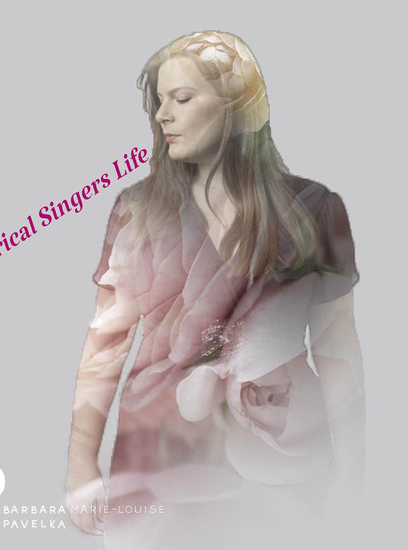 "Barbara Marie-Louise Pavelka - A Lyrical Singers Life - Cover ""Entre Le Boeuf et L'Âne Gris"