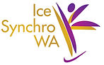 synchro team, Western Australia ice skating club logo, synchro club, synchronized ice skating