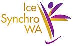 synchro team, Western Australia ice skating club logo, synchro club, synchronized ice skating