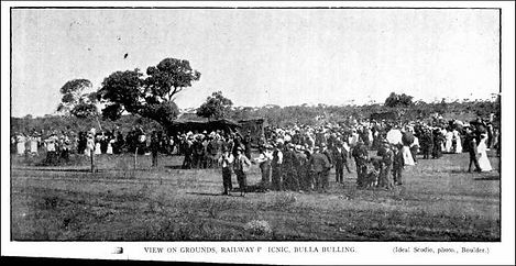 View on the grounds Railway Picnic Bulla