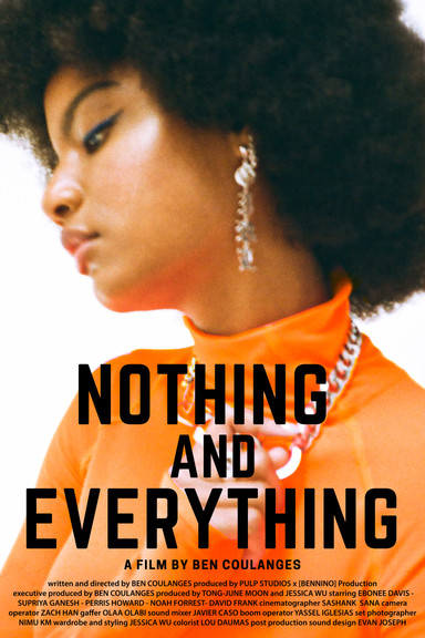 Nothing & Everything. A Creative Exploration of Racial Injustices By Ben Coulanges.