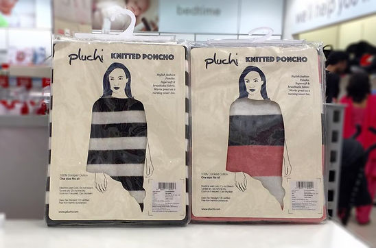 pluchi poncho packs
