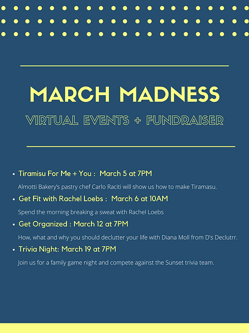 March Madness Event