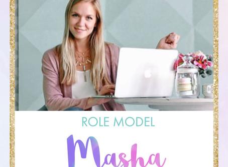 Meet Tech Role Model - Masha!