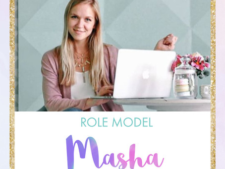 Meet Tech Role Model - Masha!