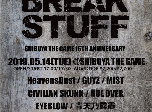 NEW SHOW DATE IN SHIBUYA