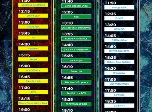 NAGO STEP TIME TABLE!
