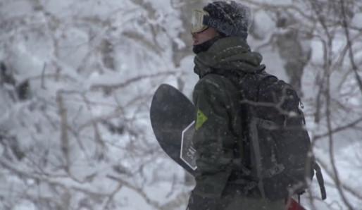 HeavensDust featured on snowboarding video with Takaharu Nakai!