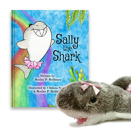 Signed Hardcover + Plush Sally Bundle