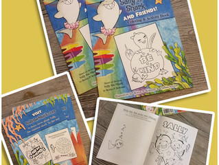 NEW! Sally & Friends Coloring Book