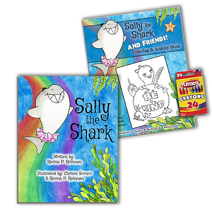 Softcover + Coloring Book Bundle