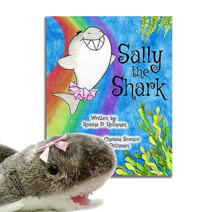 Signed Softcover + Plush Sally Book Bundle