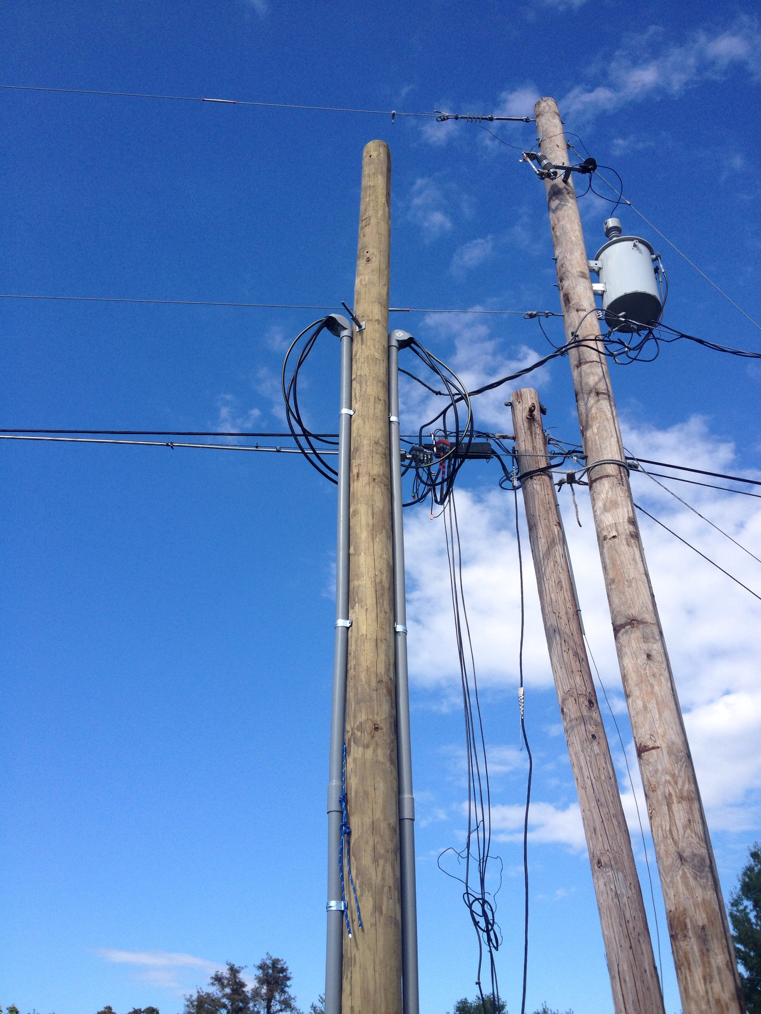 Pole work and configurations