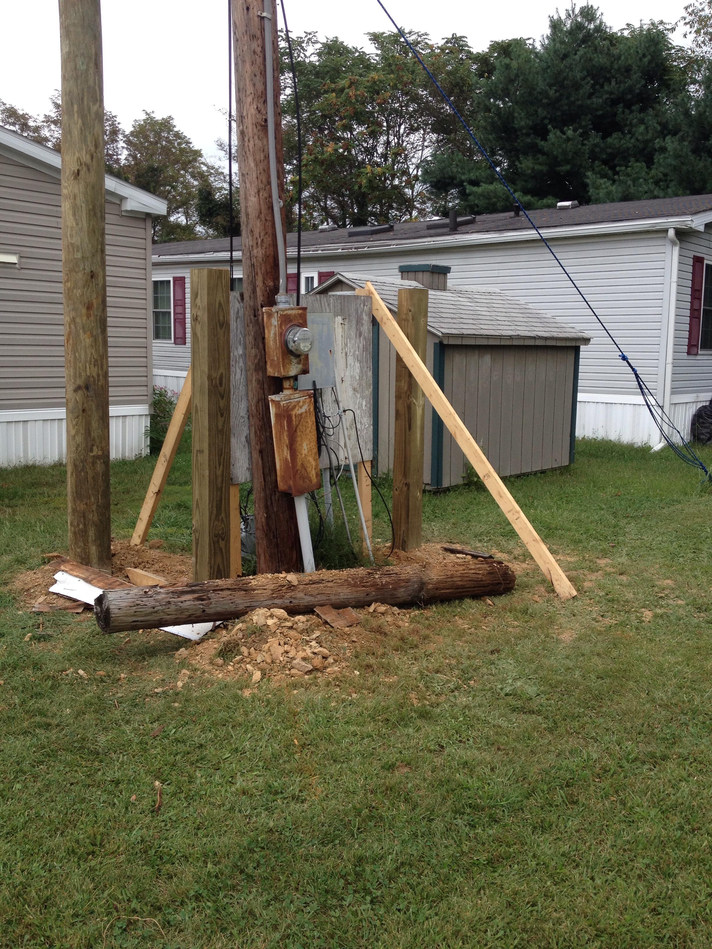 Pole installations and setups