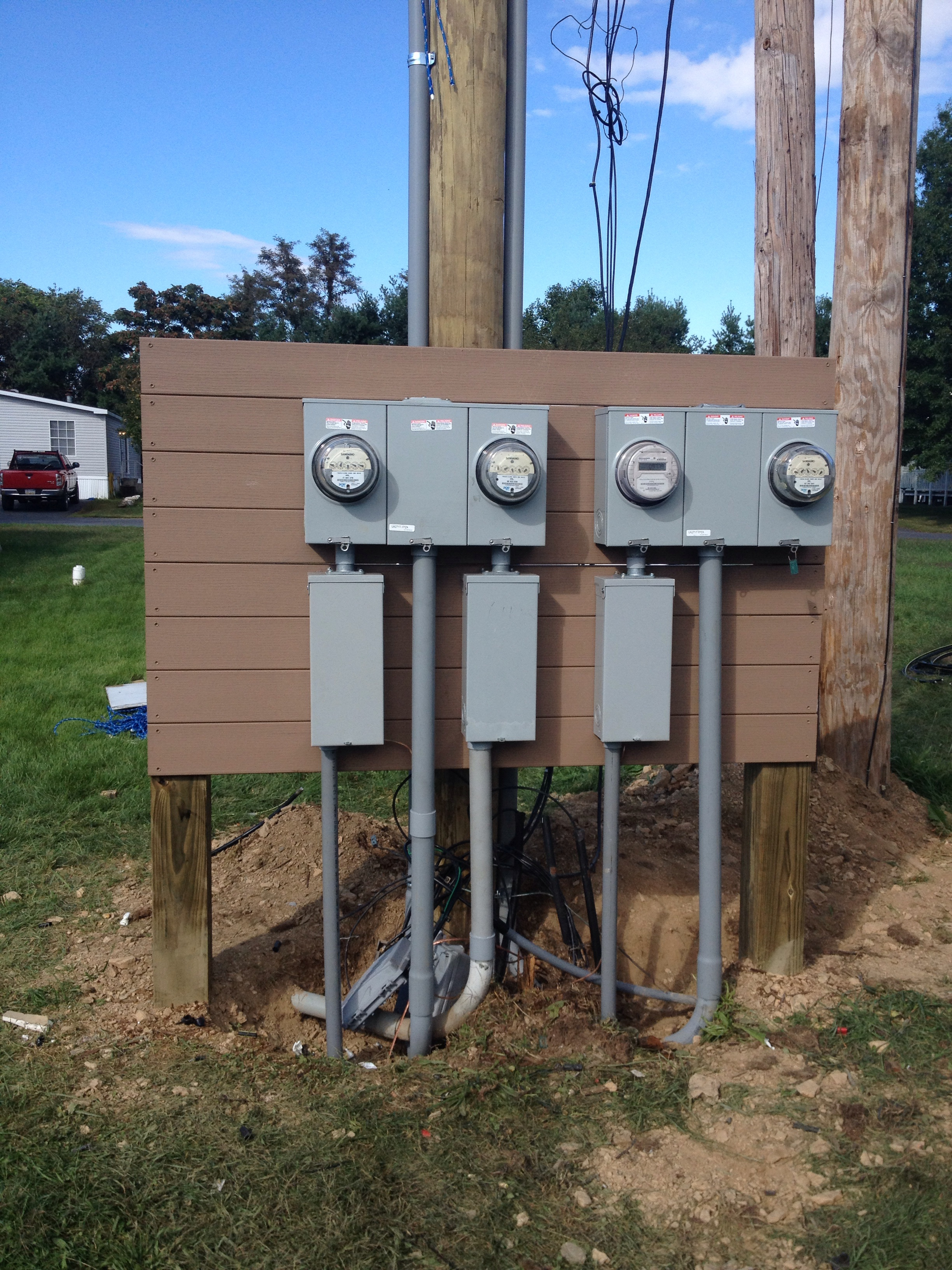 Meter installations and setups