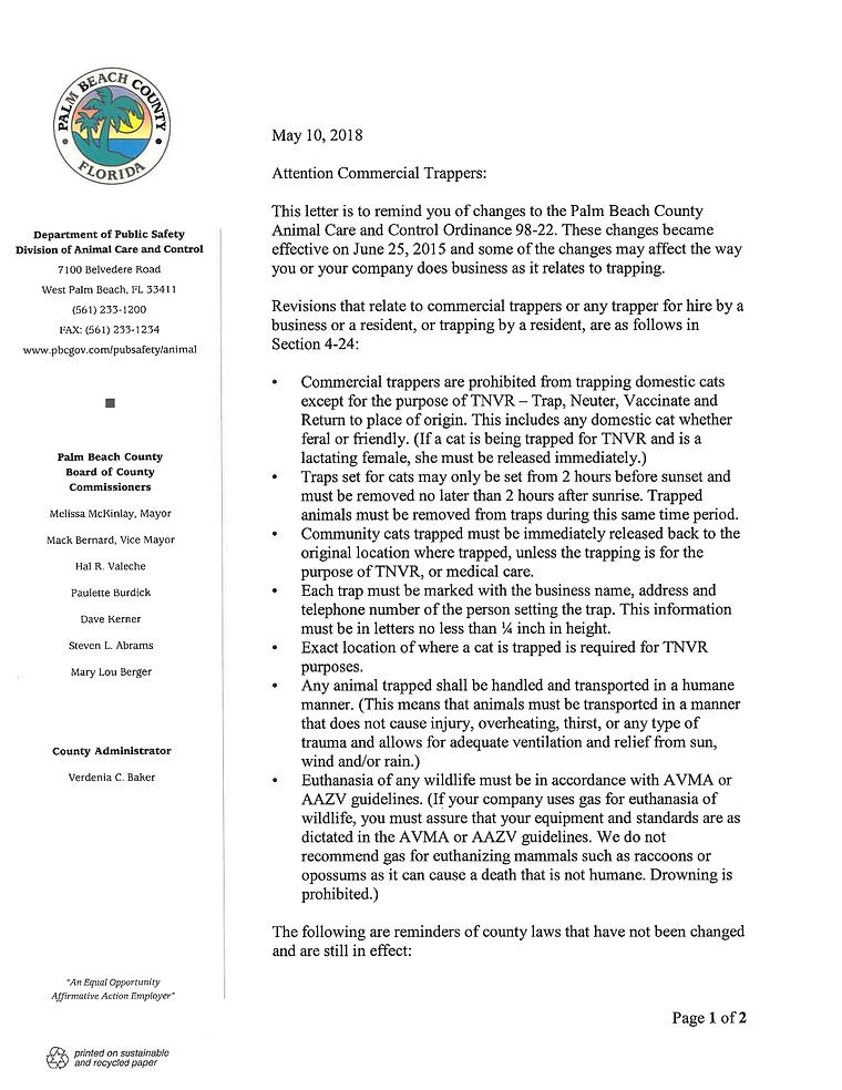 Dpt. of Public Safety Trapper_Letter_201