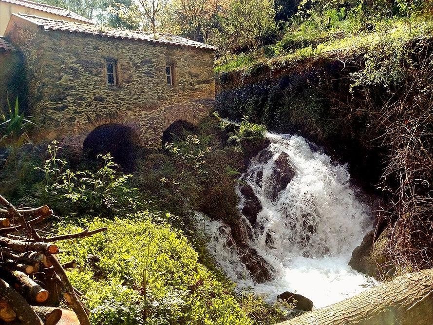 little mill waterfall