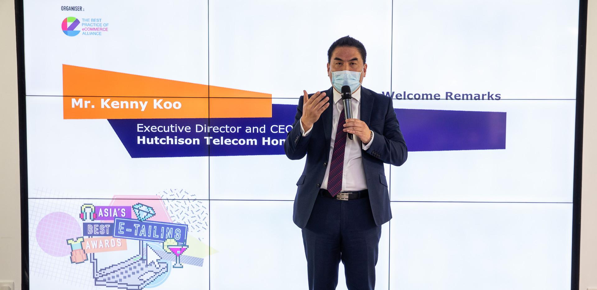 Kenny Koo Welcome Remark for NEXXZTYLE.J